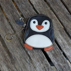 Relic Penguin key chain coin purse